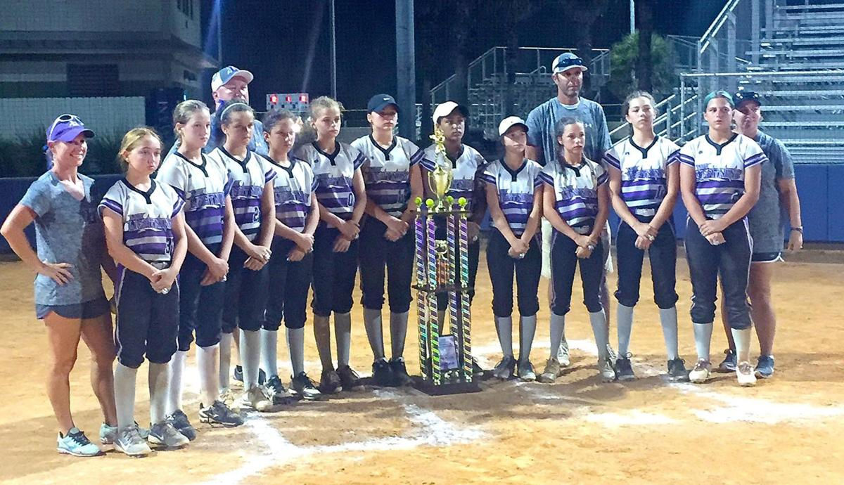 Lady lightning 03 finishes as runner up in usssa gulf coast