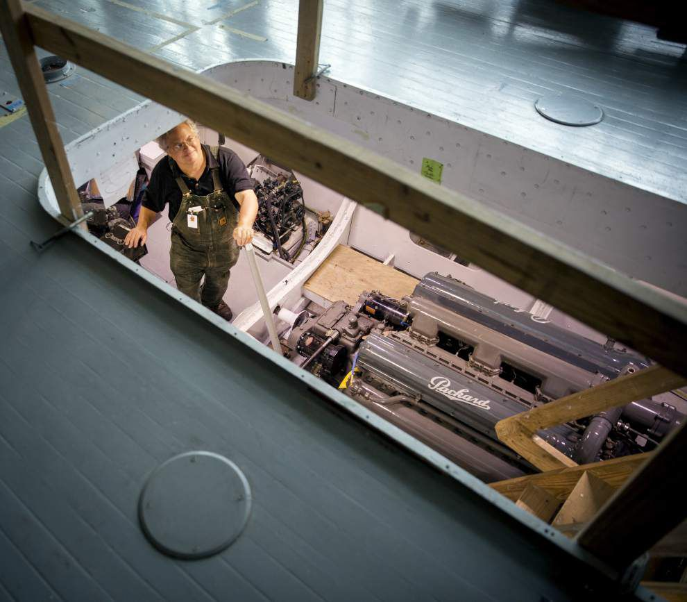 Restored World War II torpedo boat could offer rides on Lake Pontchartrain next year _lowres