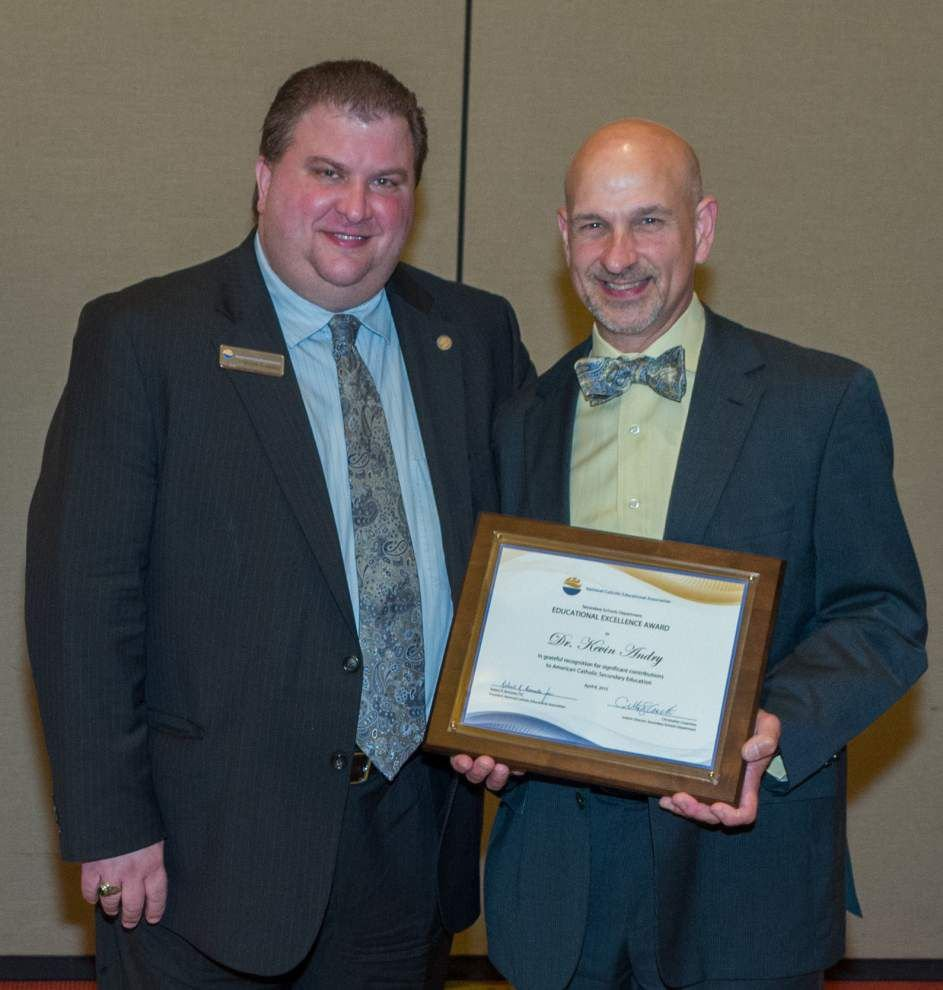 St. Michael High band director receives award _lowres