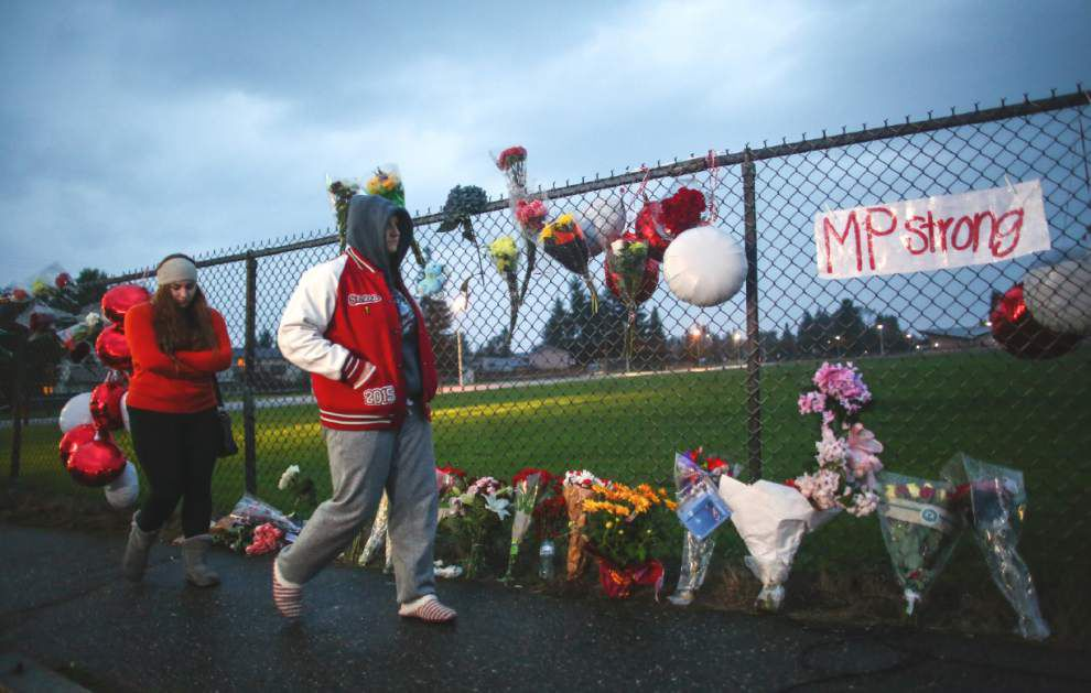Girl wounded in Washington school shooting dies _lowres
