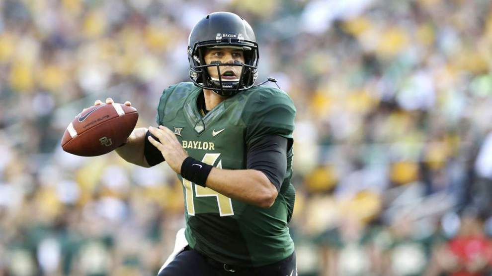 Report: Saints view Baylor's Bryce Petty as best 'pure passer' in the draft _lowres