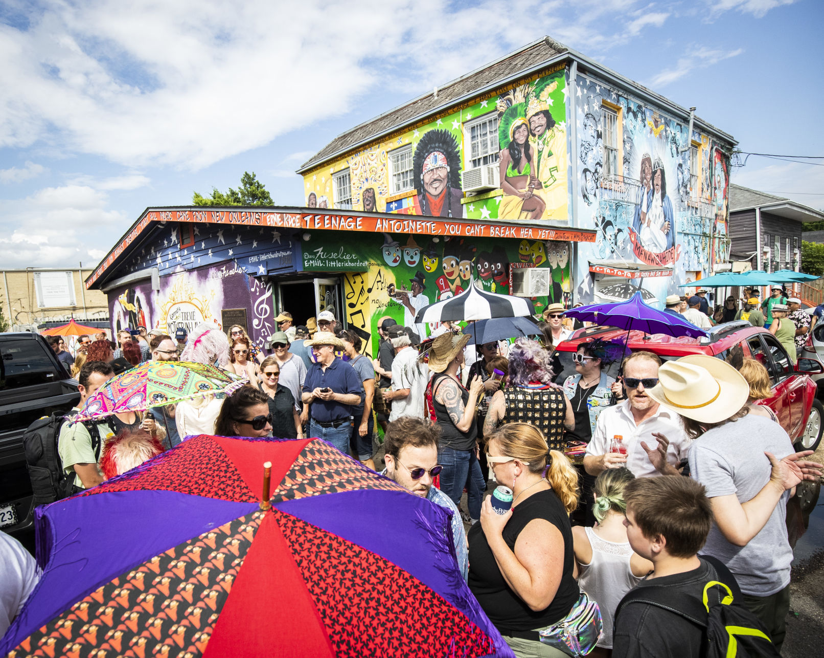 Marching for Mac Rebennack: New Orleans music icon Dr. John gets celebratory second-line