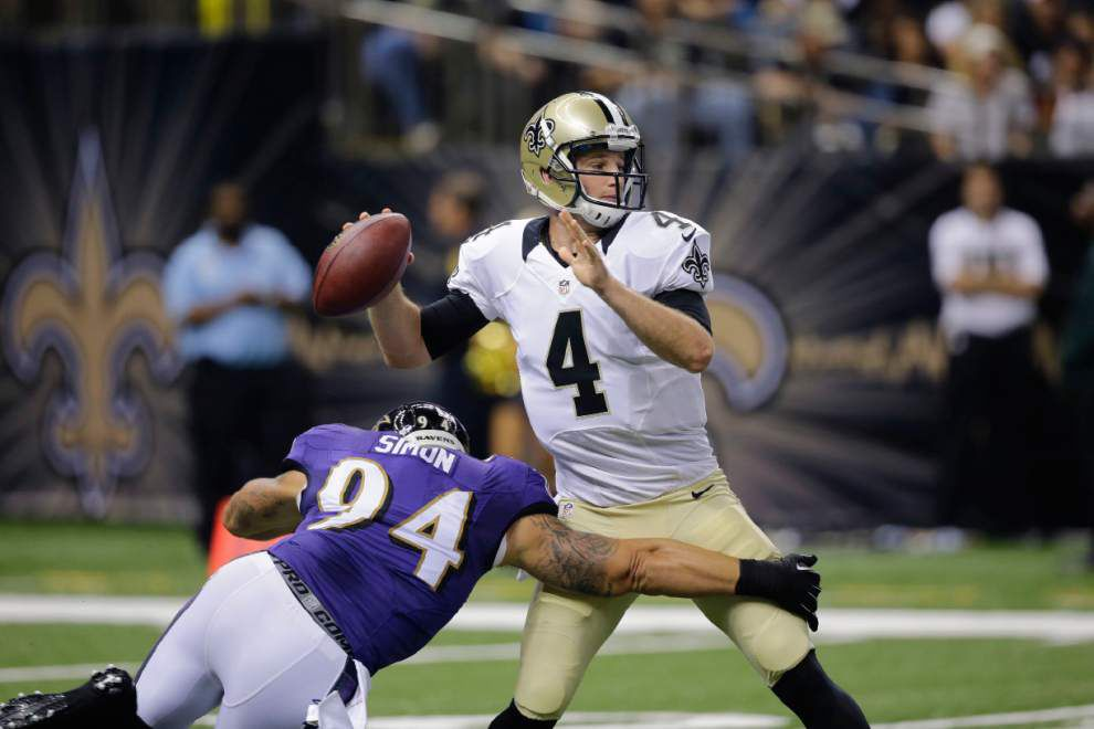 Video: Saints position battles highlight team's 22-13 loss to Baltimore Ravens _lowres