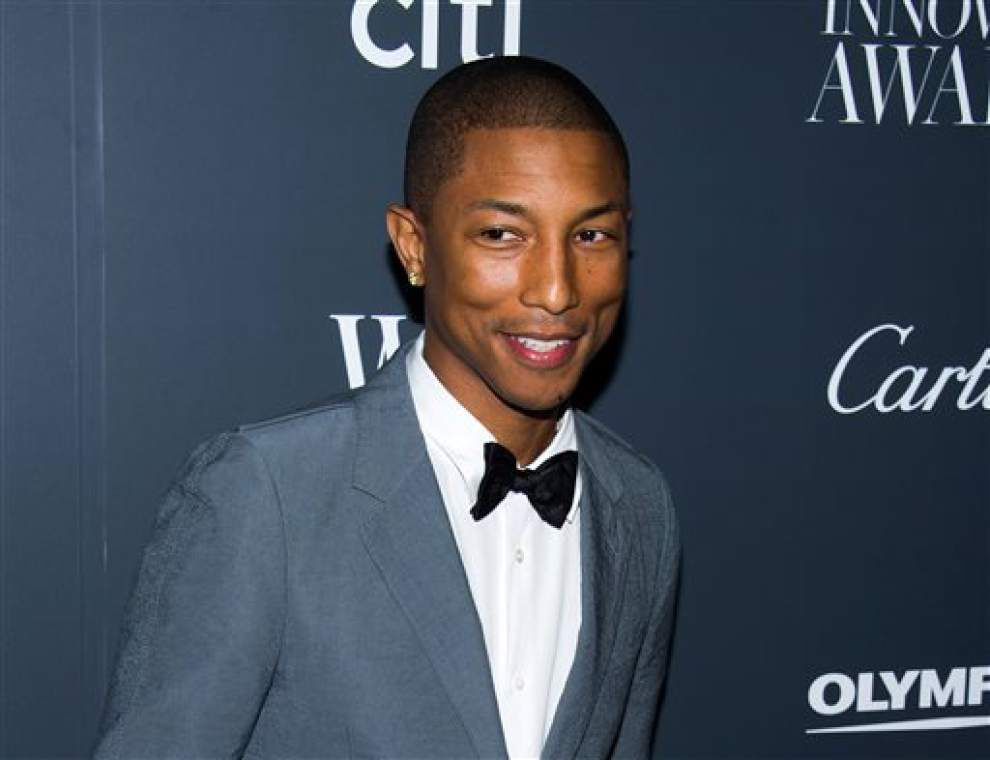 Pharrell Williams to perform on Oscar telecast _lowres