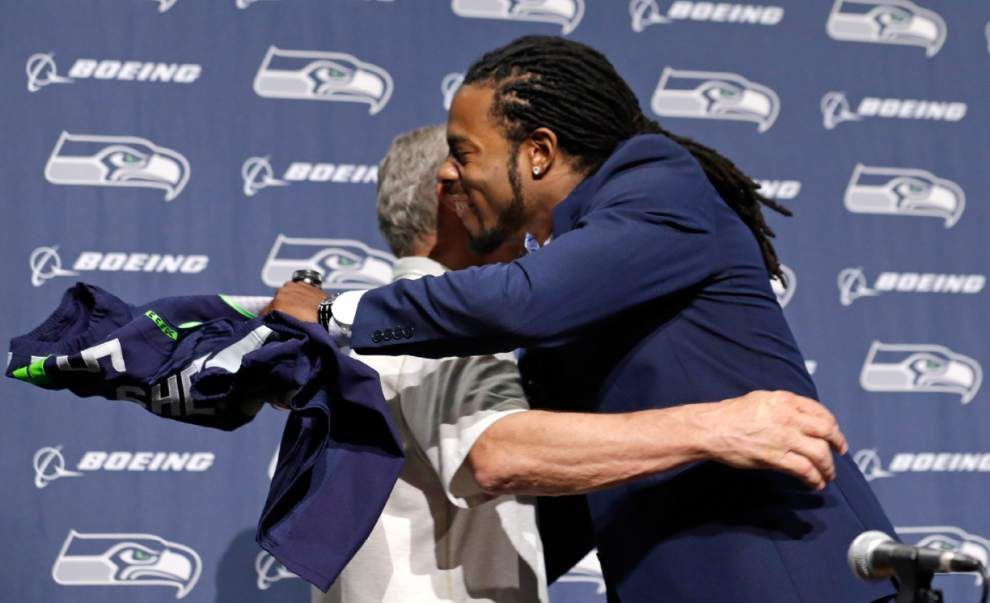 Seahawks, Richard Sherman agree to extension _lowres