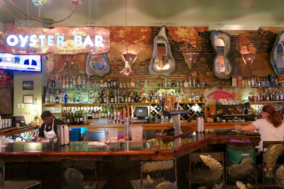 One corner four oyster bars and a tour of classic and for Bourbon street fish