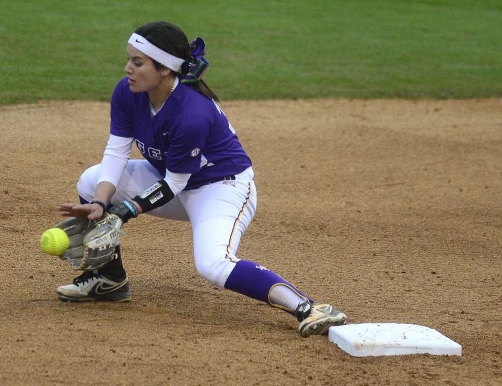 LSU says it's ready for Missouri, SEC softball tournament _lowres