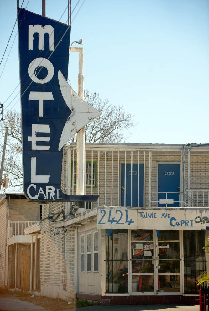 Capri Motel on Tulane Avenue -- said to be prostitution, drug magnet -- sold to new owners who want to demolish it _lowres