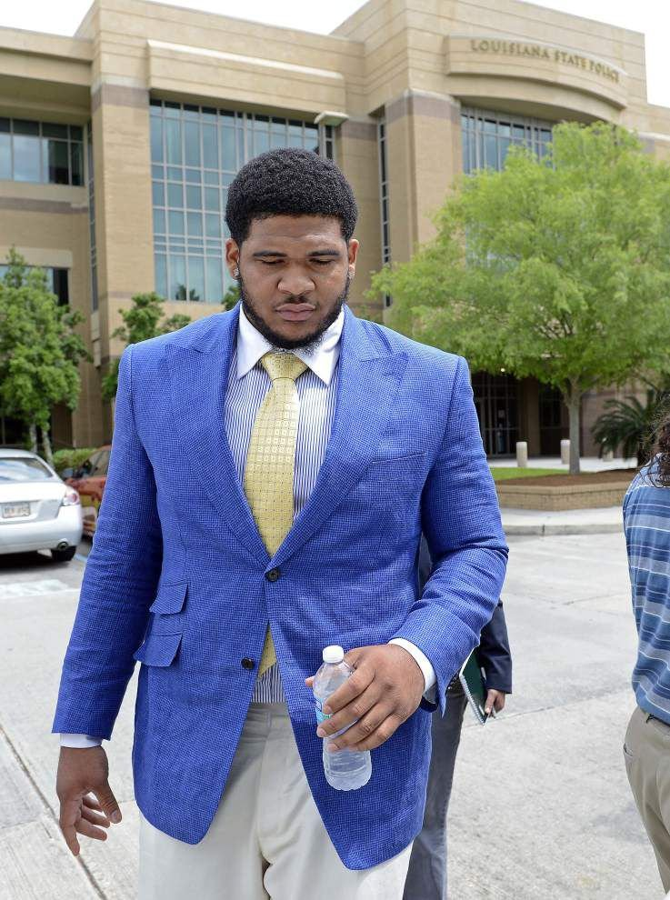 Report: La'el Collins questioned by Baton Rouge police because Brittany Mills' daughter mentioned his name in interview _lowres