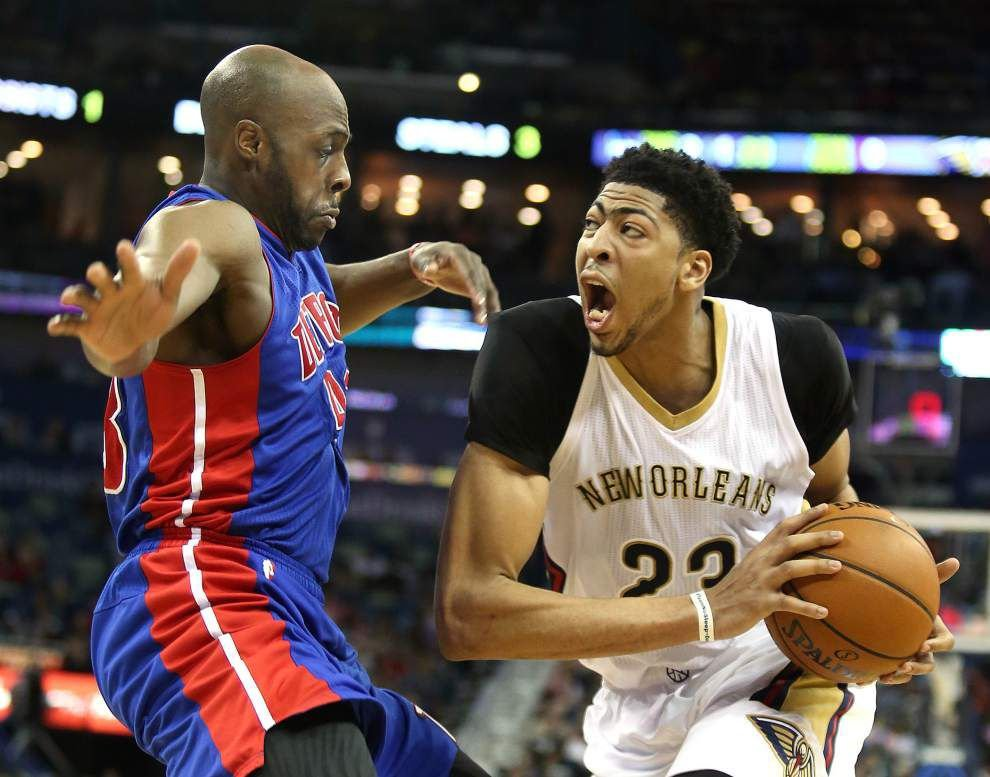 New Orleans Pelicans' Anthony Davis makes statement in return _lowres