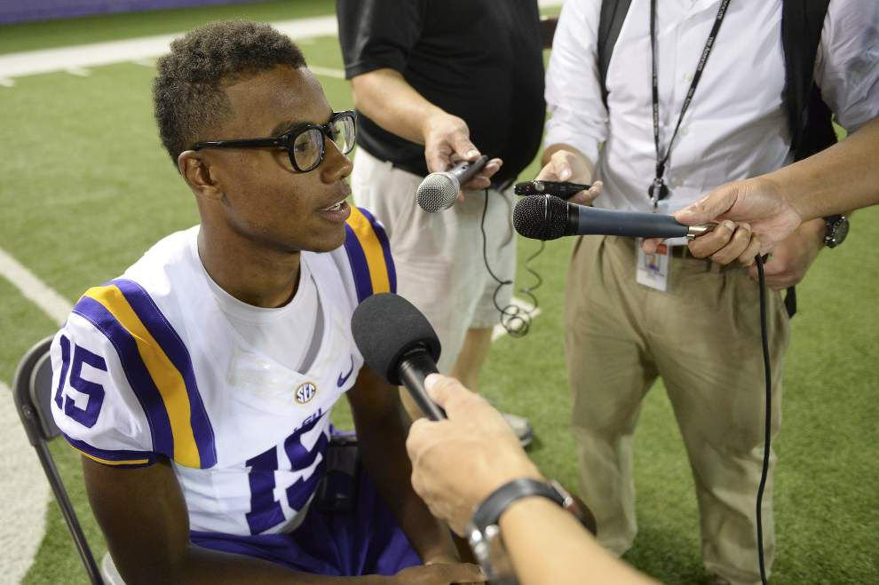 LSU receivers Malachi Dupre, Trey Quinn developing connection on and off the field _lowres