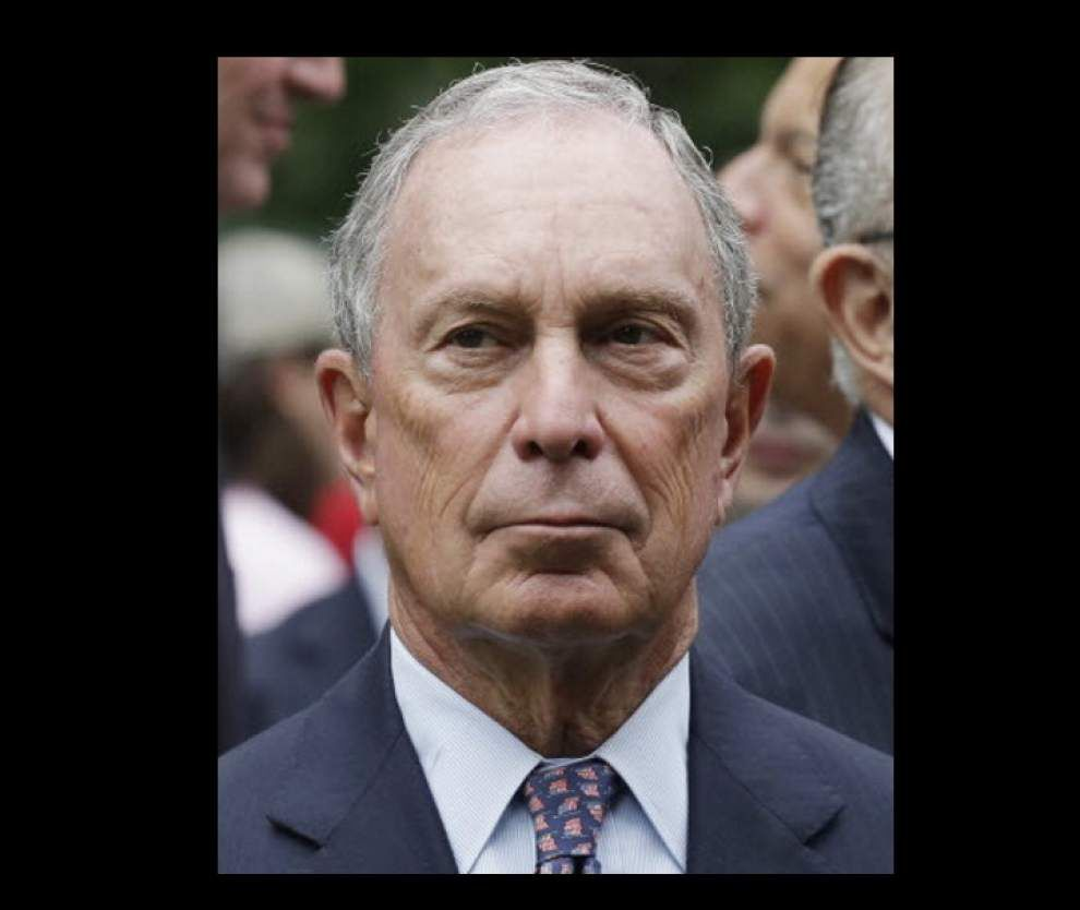 Former New York City mayor Michael Bloomberg writing checks to influence East Baton Rouge school board races _lowres