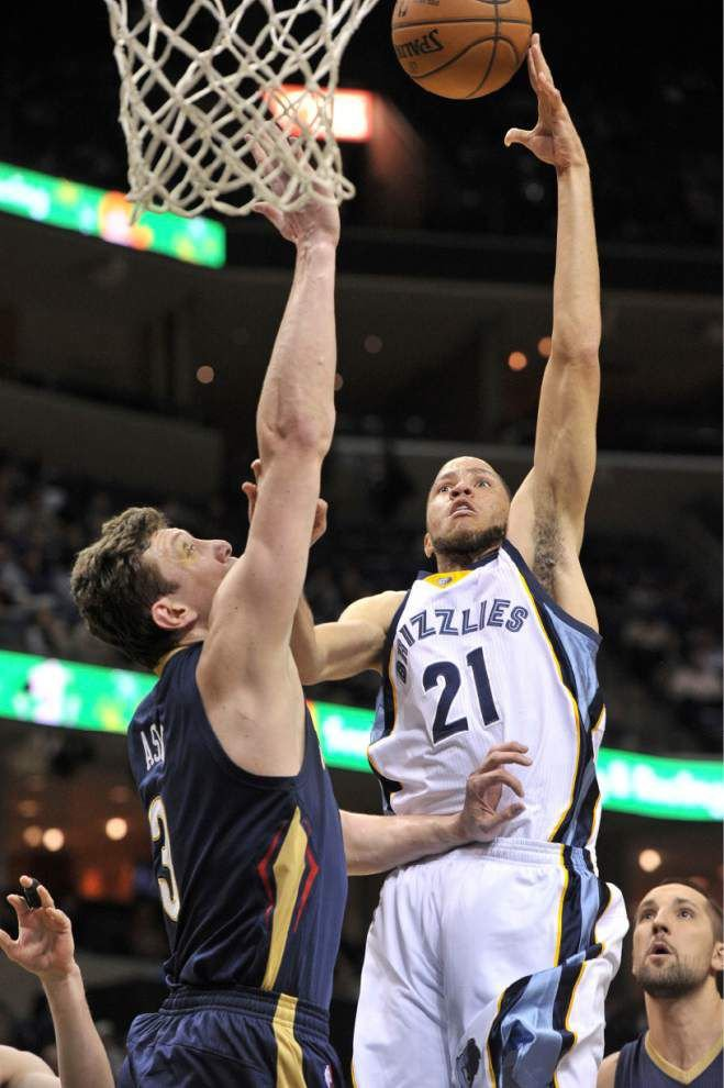 Grizzlies defense proves too much for Pelicans _lowres