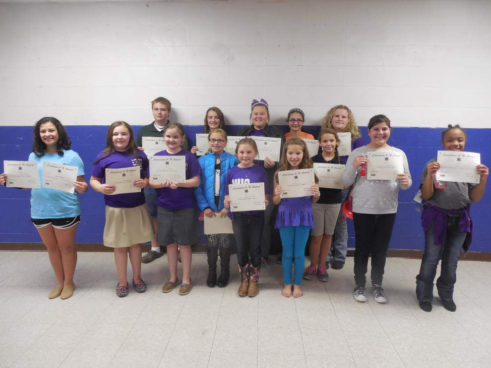 Club competes in 4-H food fest _lowres