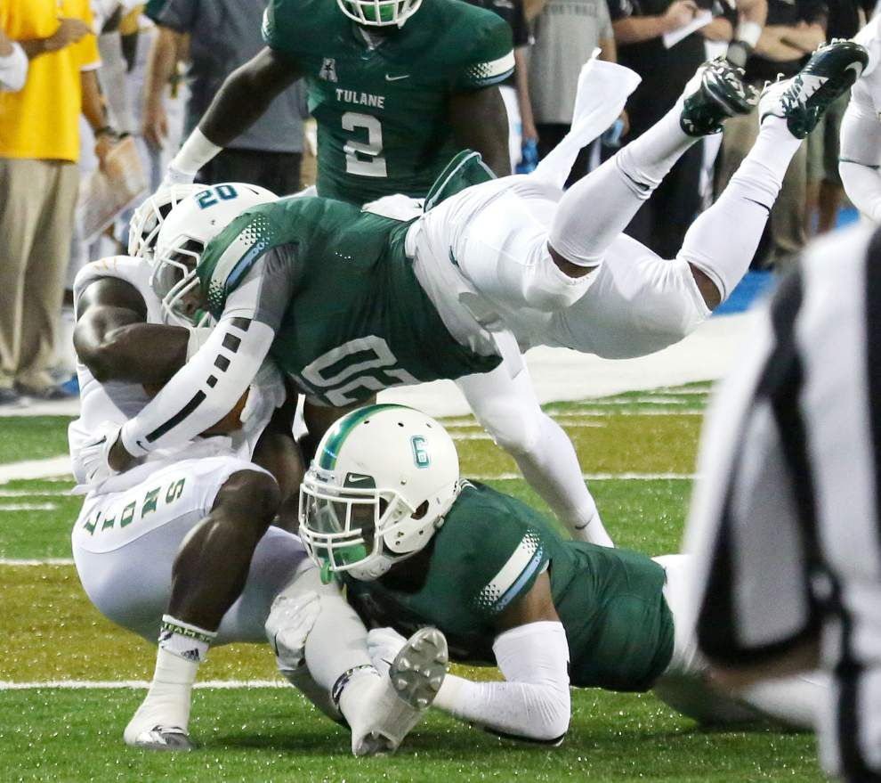 Tulane defense found some answers in its win over Southeastern _lowres