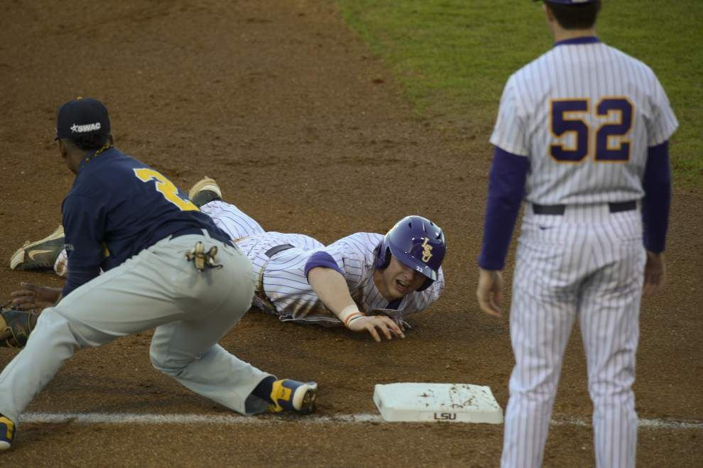 LSU baseball defeats Southern 8-0 at Alex Box _lowres