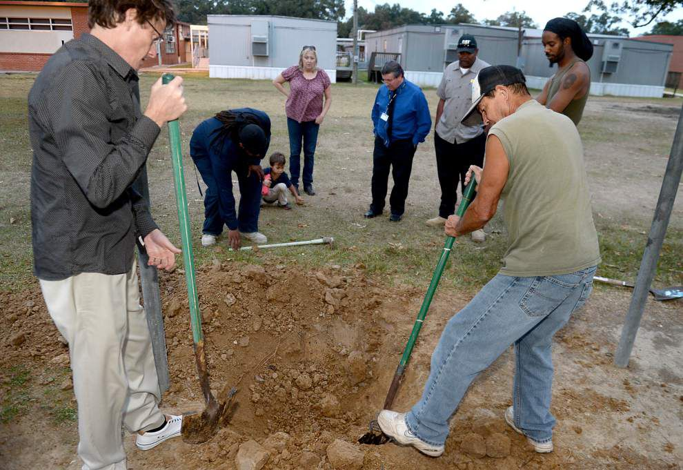 Former students of beloved, belligerant educator begin search for time capsule _lowres