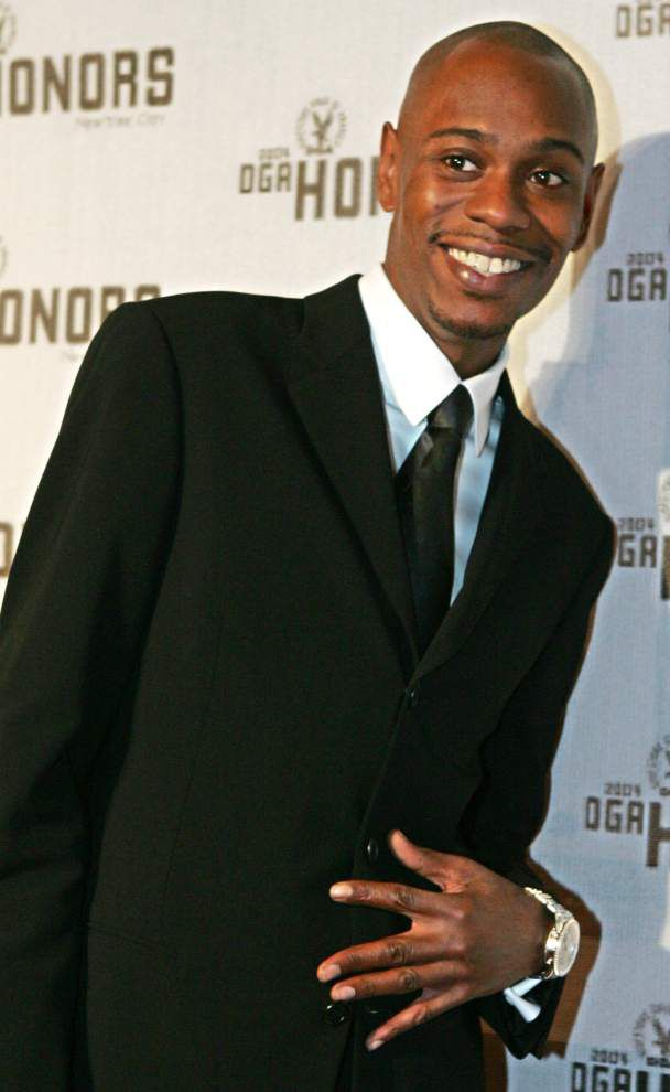 Dave Chappelle to perform at the Saenger on Dec. 11 _lowres