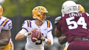 Joe Burrow continues assault on LSU record books; here's where he sits on 5 different lists