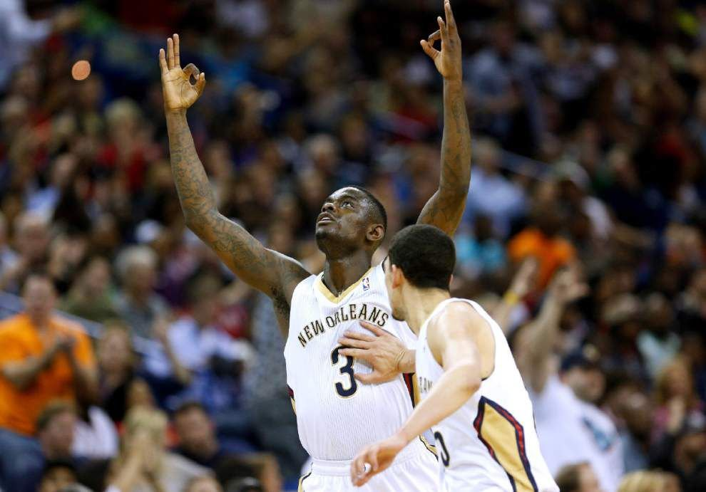 Video: Defense was key to Pelicans upset against Heat _lowres