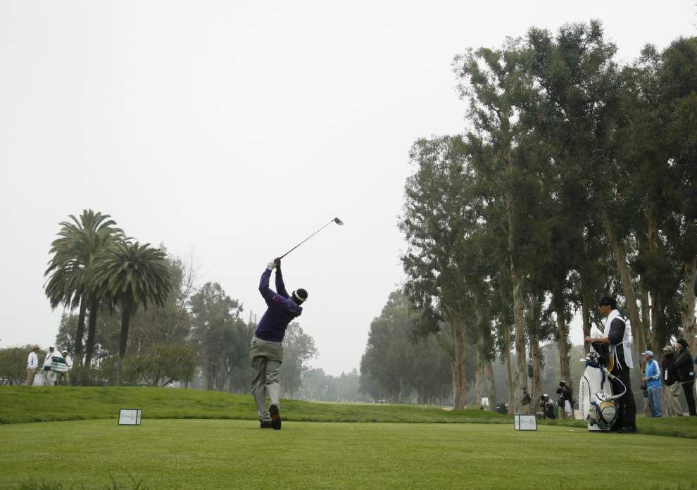 Northern Trust Open opens with logjam at top _lowres