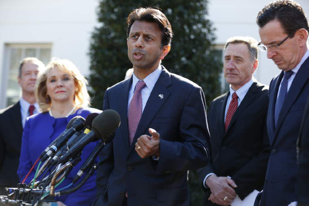Gov. Bobby Jindal defends criticism of Obama's economic policy _lowres