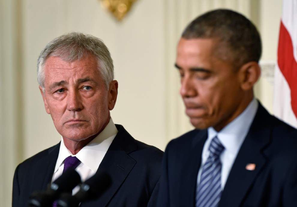 Hagel resignation comes at messy moment for US _lowres