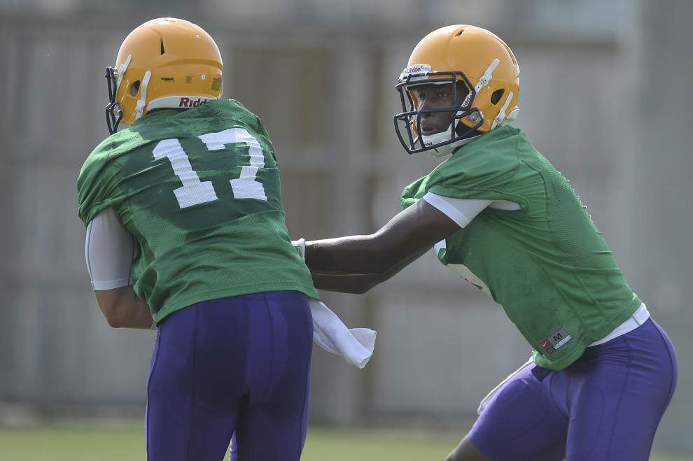 Live updates during LSU's Tuesday morning practice _lowres
