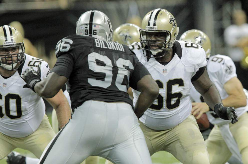 Ben Grubbs' injury has Saints interior line living in limbo _lowres
