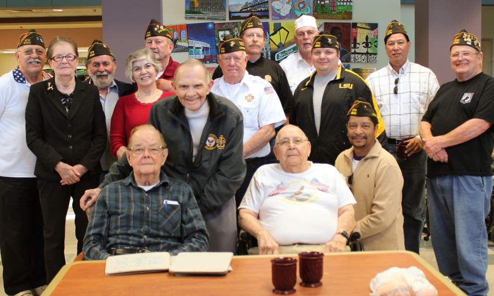 VFW members visit Southeast Louisiana War Veterans Home _lowres