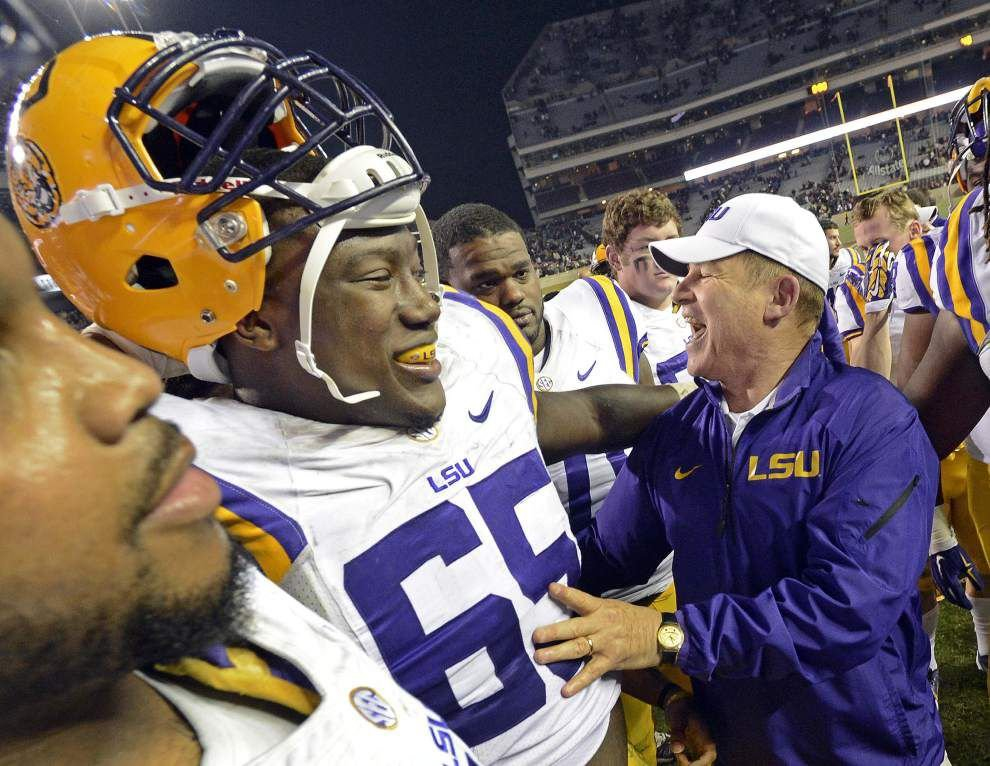 Reports: Michigan has reached out to LSU football coach Les Miles about its coaching vacancy; athletic director Joe Alleva responds _lowres