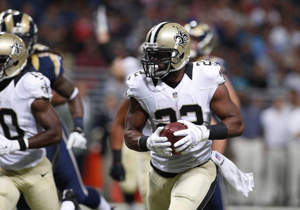 Vargas: Mark Ingram, Saints running game show early promise _lowres