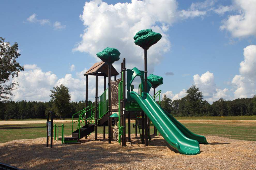 St. Helena playground, features get upgrade _lowres