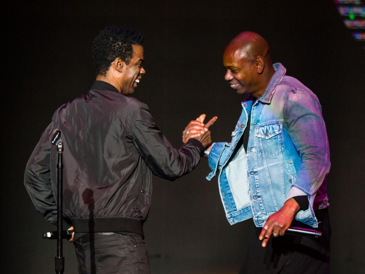 Image result for DAVE Chappelle chris rock new orleans