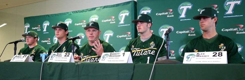Video: Tulane baseball team optimistic going into 2015 season _lowres