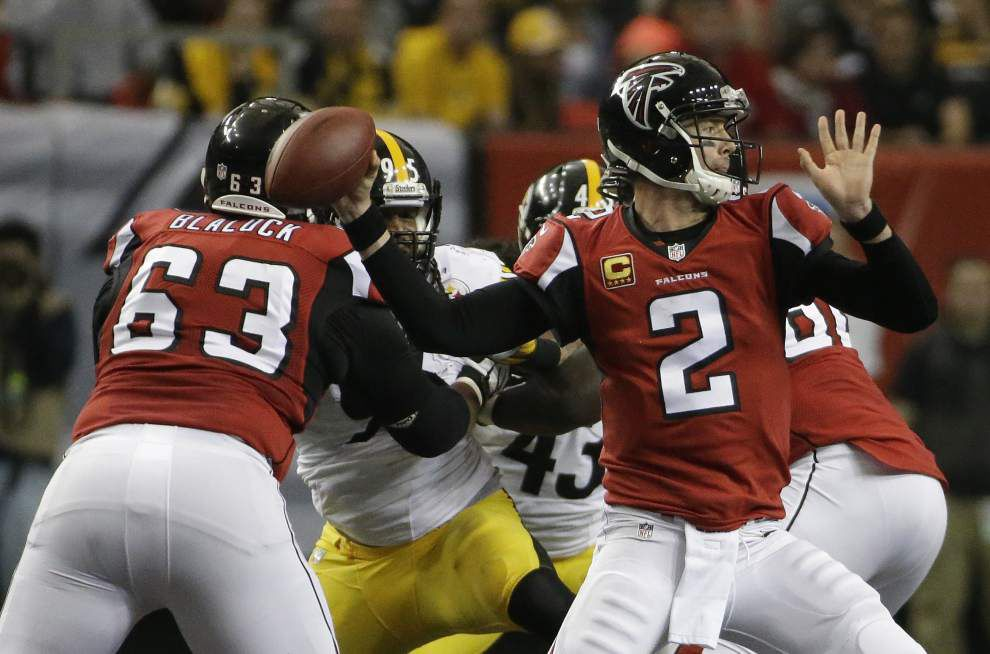 Video: Getting pressure on Atlanta Falcons quarterback Matt Ryan will be the key for the Saints in Sunday's NFC South showdown _lowres