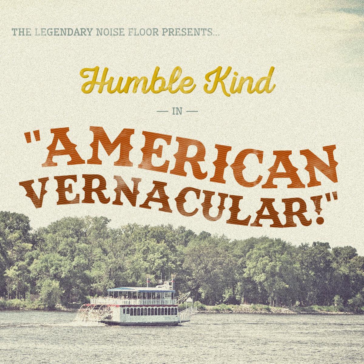 Humble Kind 'American Vernacular' album art