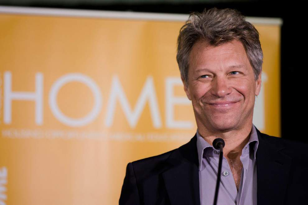Jon Bon Jovi to be honored for humanitarian work _lowres