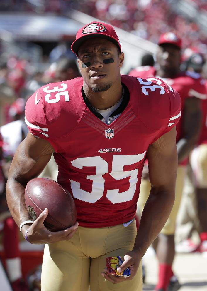 49ers safety Eric Reid ready for Rams' quarterback _lowres