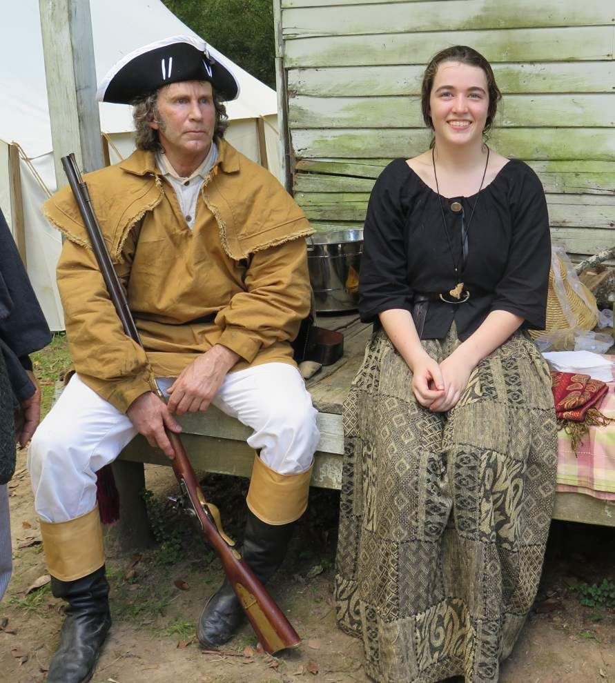 Re-enactors strive to 'get it right' _lowres