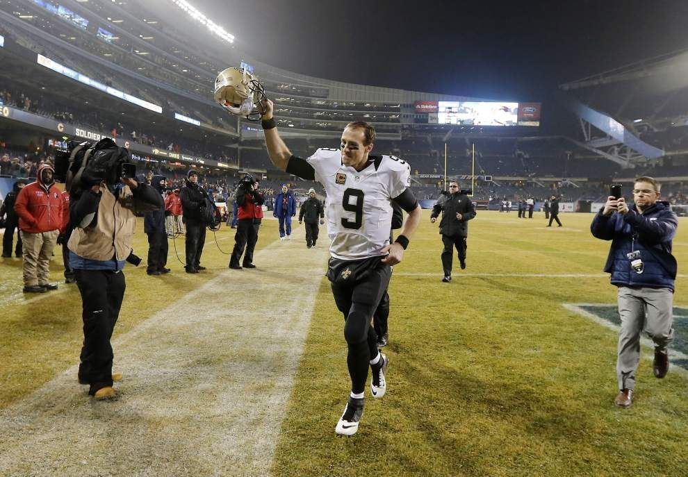 Saints claim first place in the NFC South with a 31-15 win at the Chicago Bears _lowres