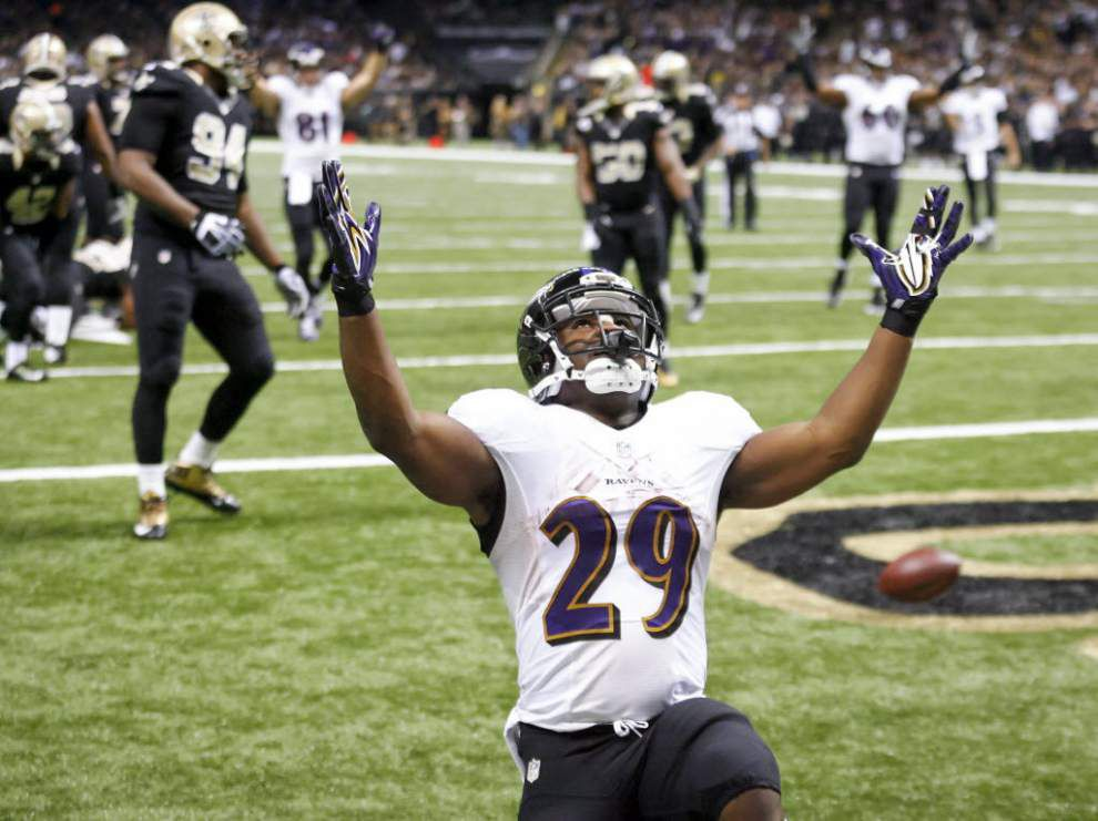 Report: Saints could eye running back Justin Forsett if he reaches free agency as a replacement insurance for Mark Ingram _lowres