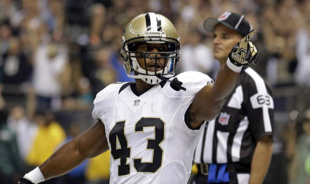 Eagles running back, ex-Saint Sproles tells reporter New Orleans 'disrespected' him _lowres