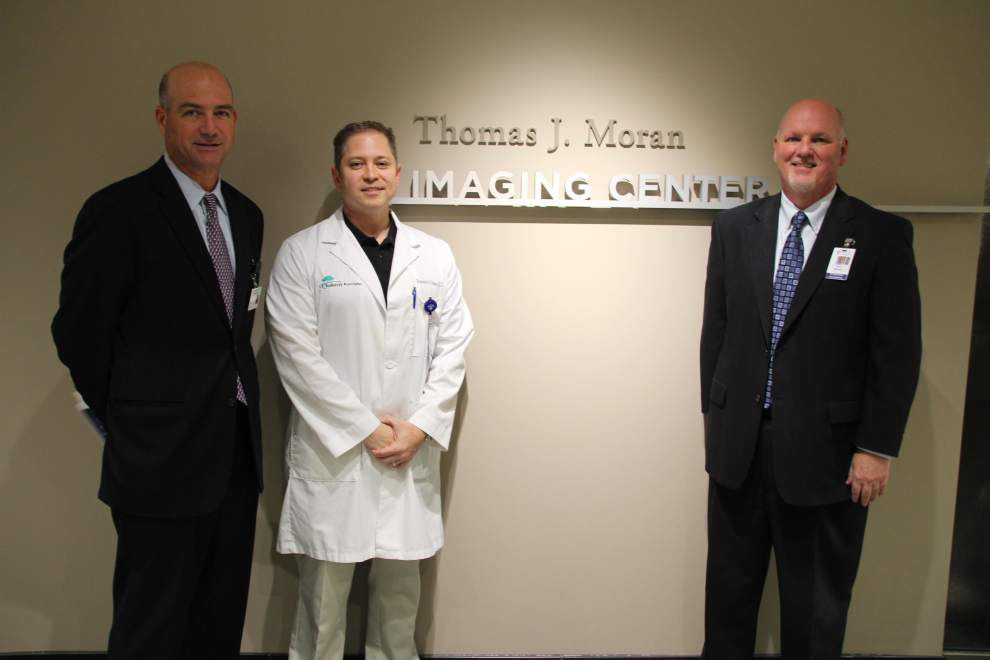Blessing ceremony held for new OLOL imaging center _lowres