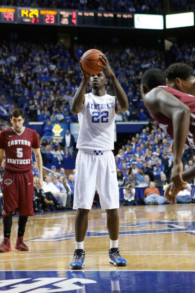 Kentucky forward Alex Poythress suffers season-ending injury _lowres