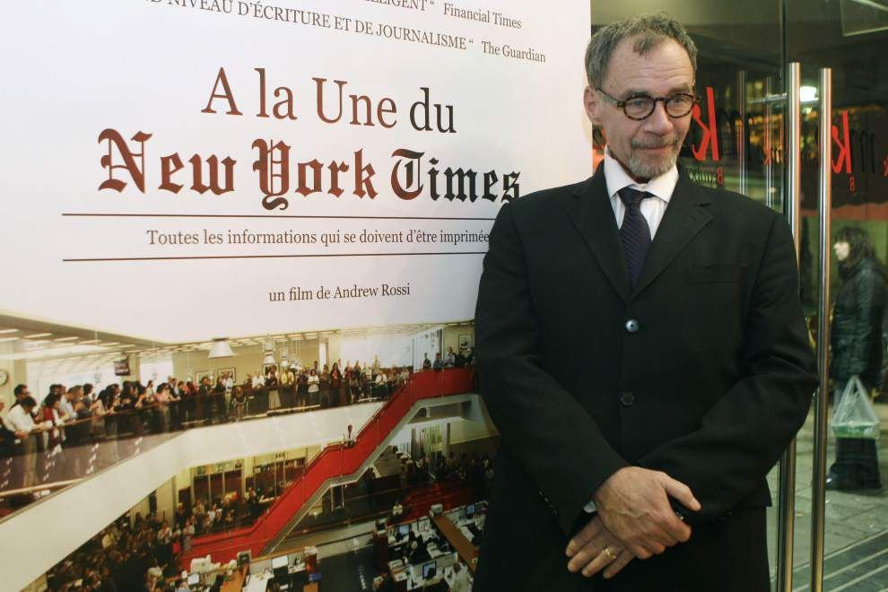 New York Times media columnist David Carr dies at age 58 _lowres