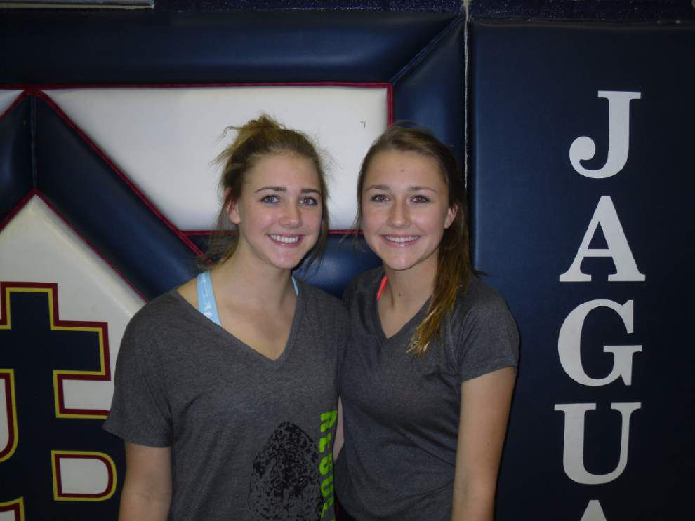 Marlena and Christina Cutura bring power, athleticism to Pope John Paul _lowres