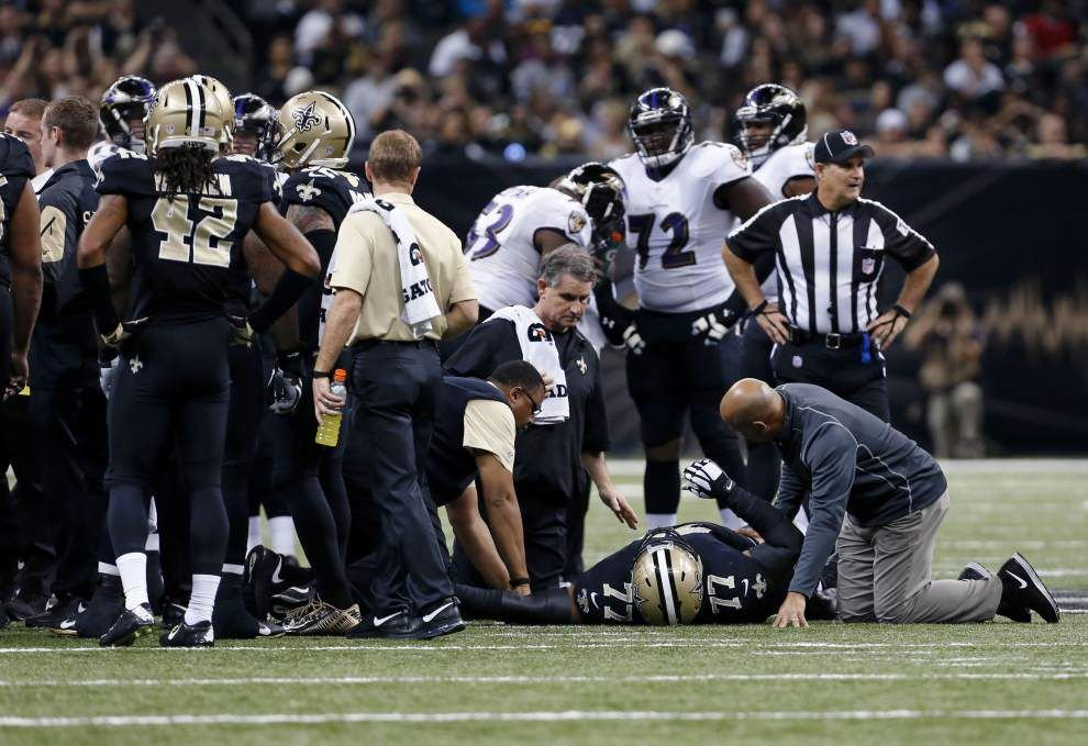 Saints' nose tackle Bunkley heads to season-ending IR _lowres