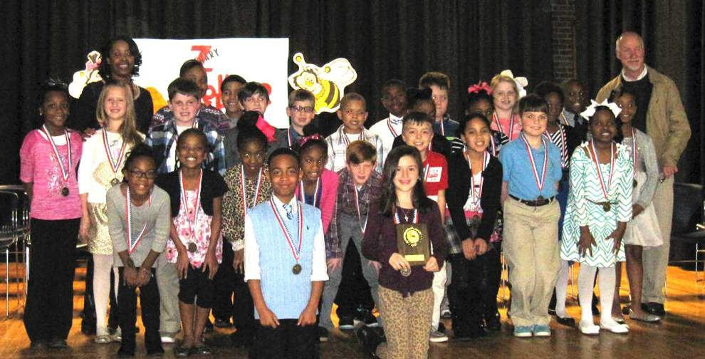 Third-, fourth-graders compete in spelling bee _lowres