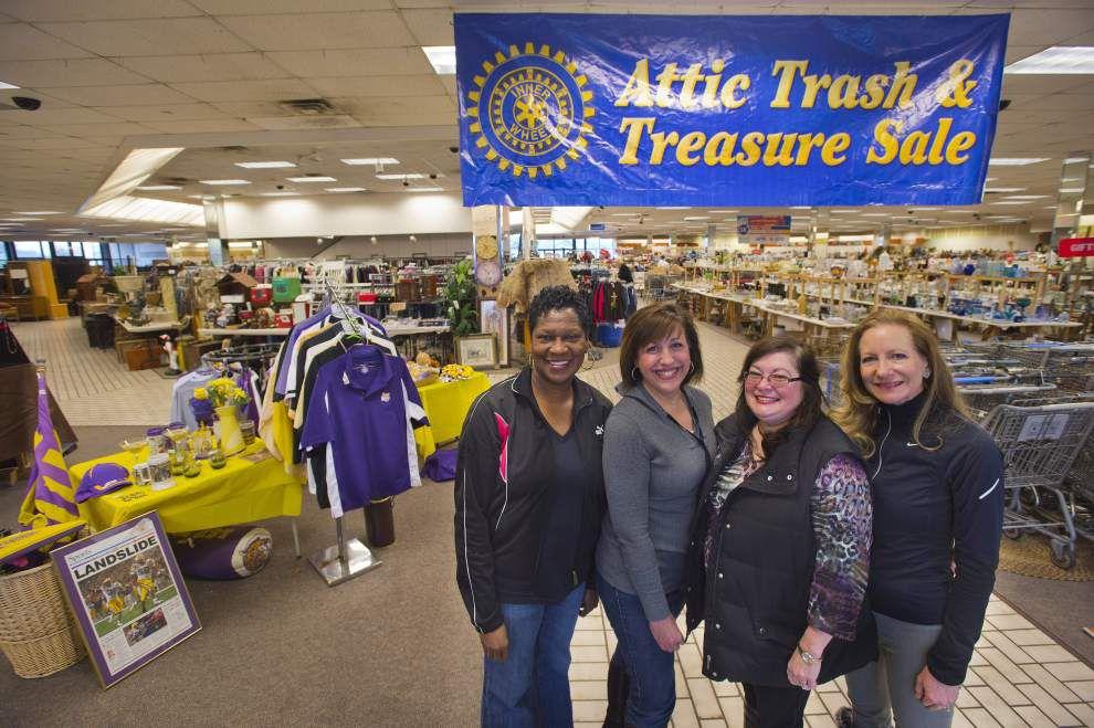 Setting sale: Rotary Inner Wheel Attic Trash, Treasure sale this weekend _lowres